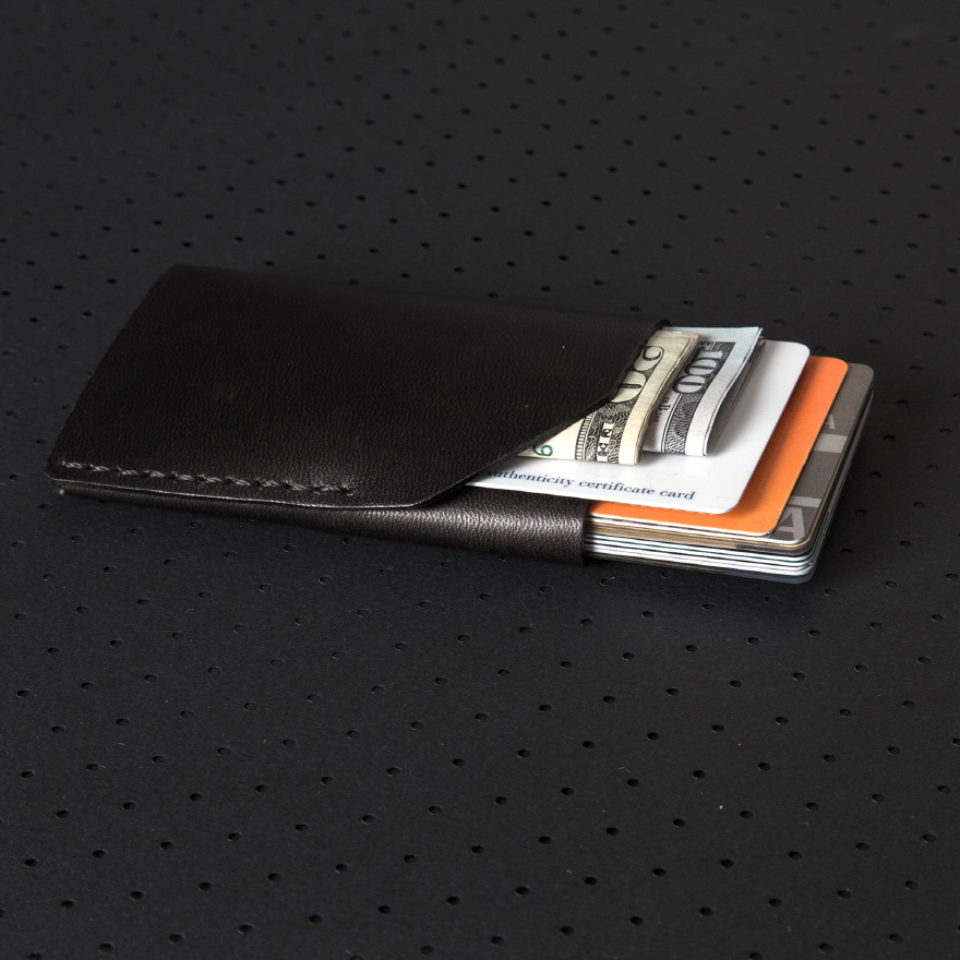No.2 Wallet - Jet Black