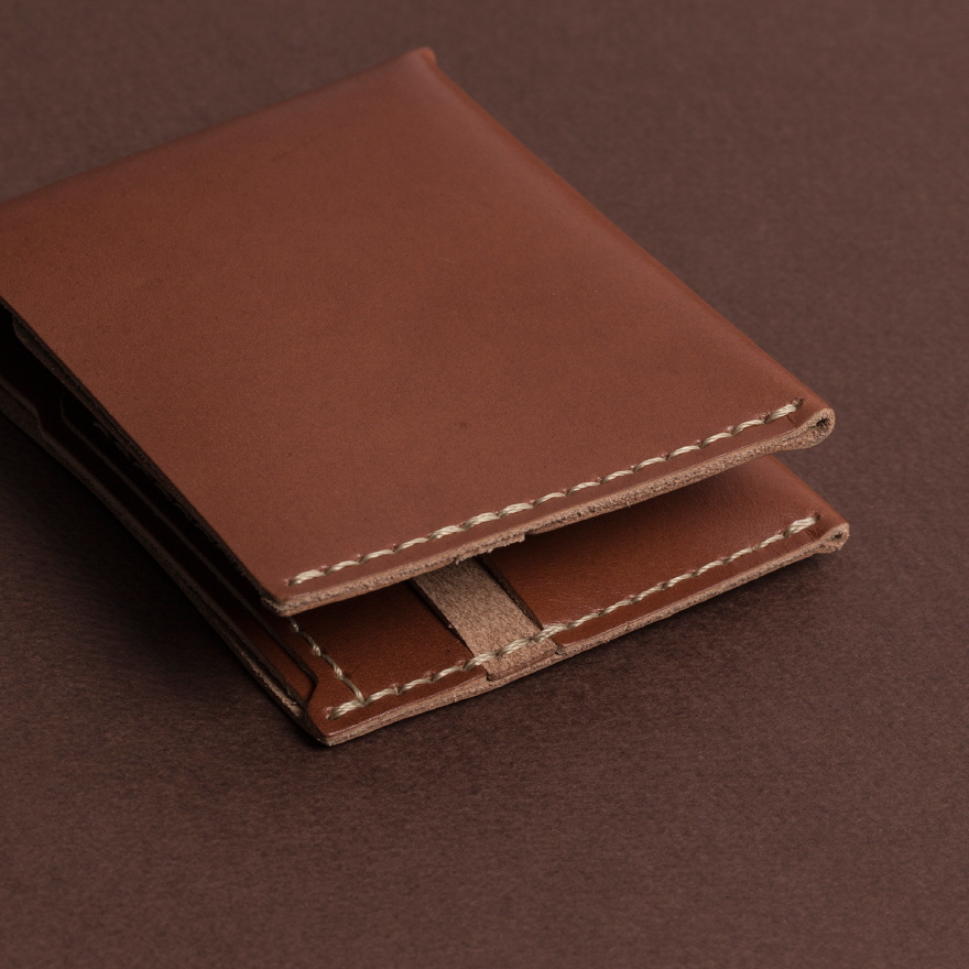 No.6 Wallet - Cognac