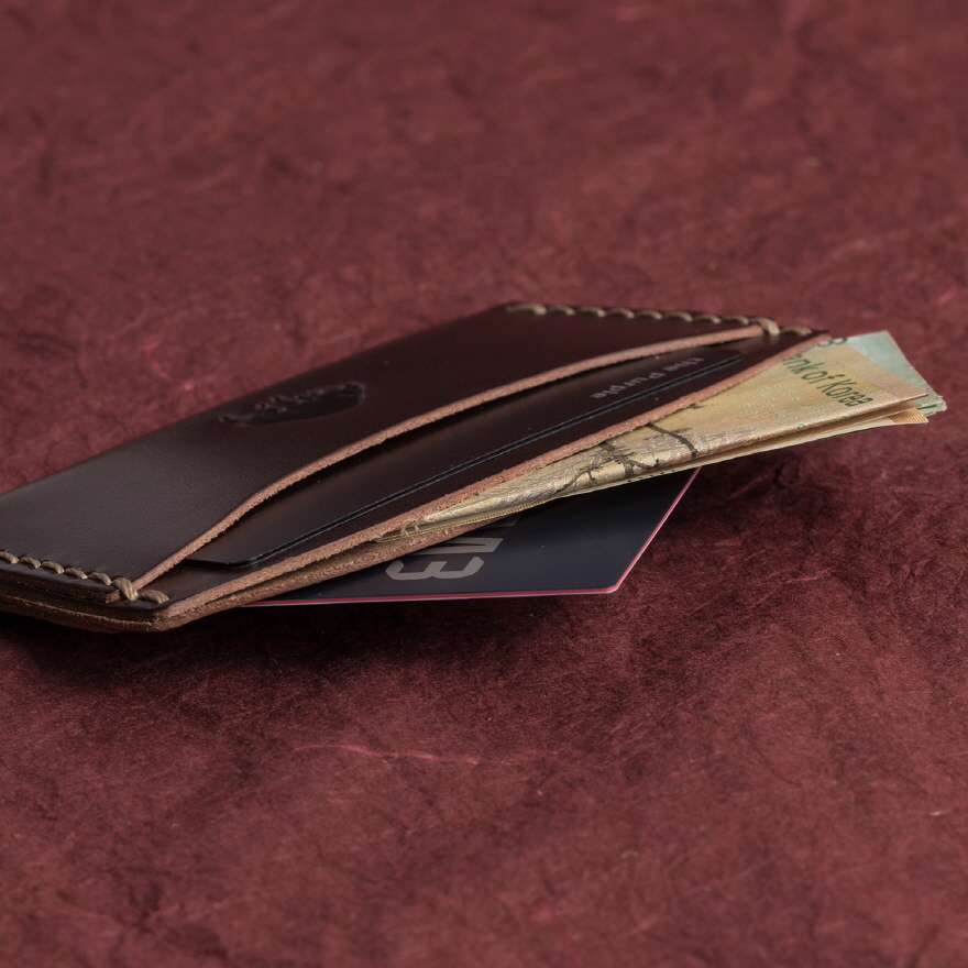 No.3 Wallet - Burgundy