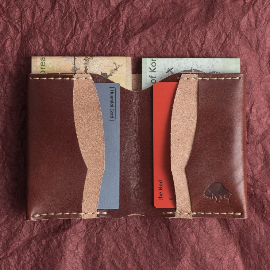 No.4 Wallet - Burgundy