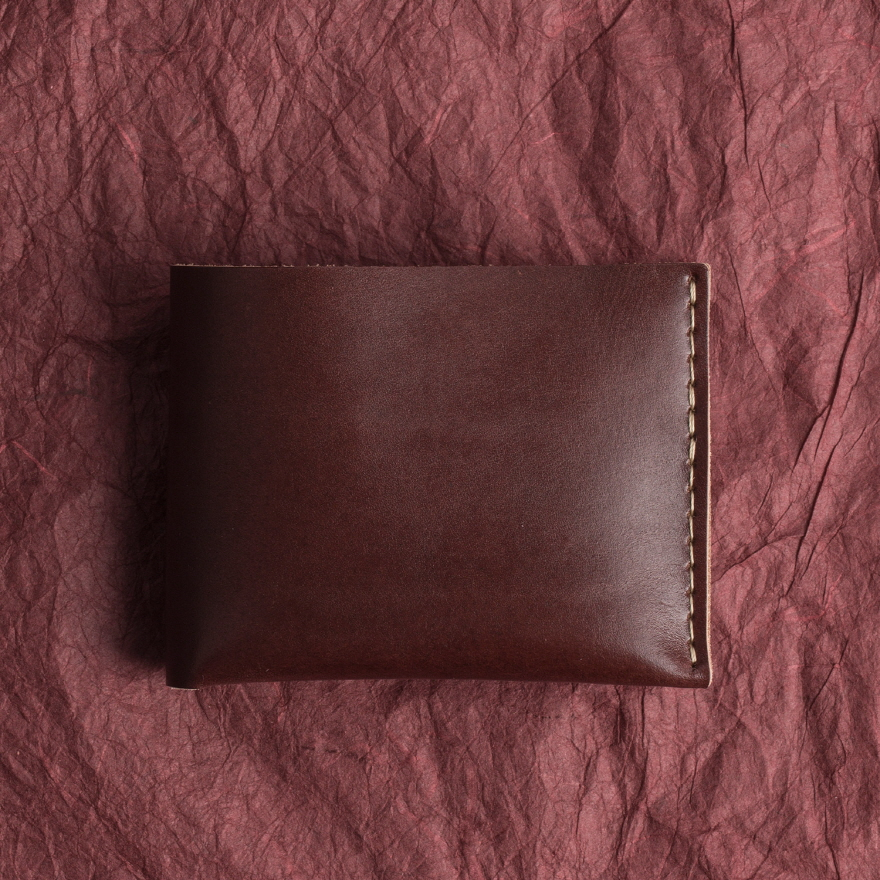No.6 Wallet - Burgundy