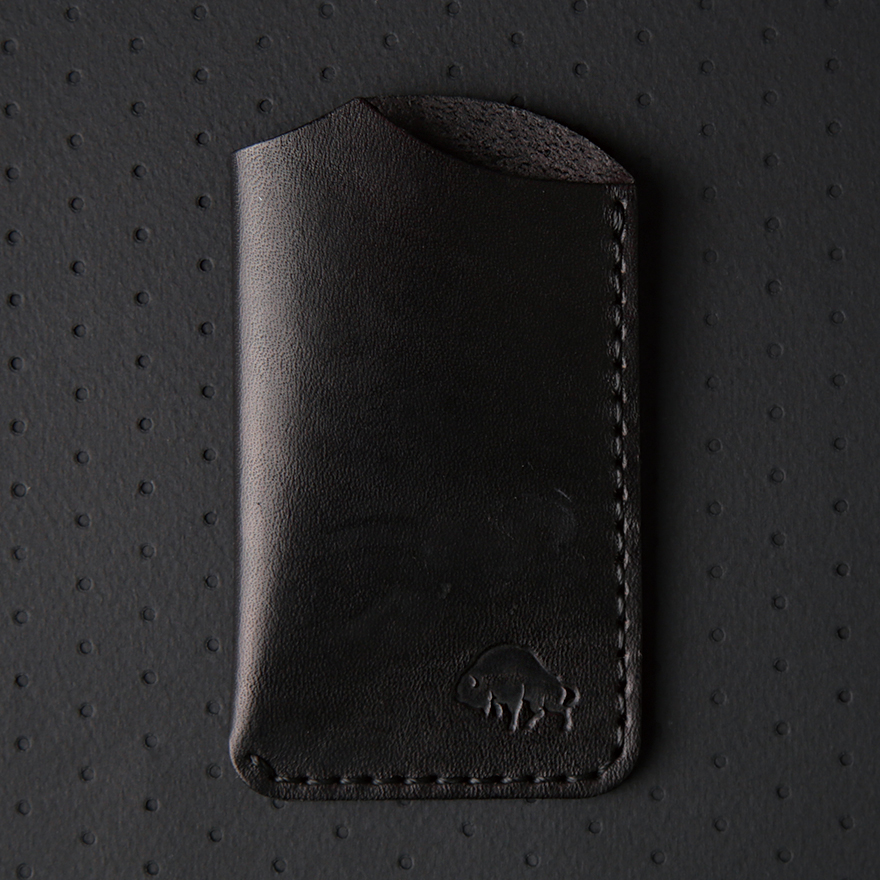 No.1 Wallet - Jet Black