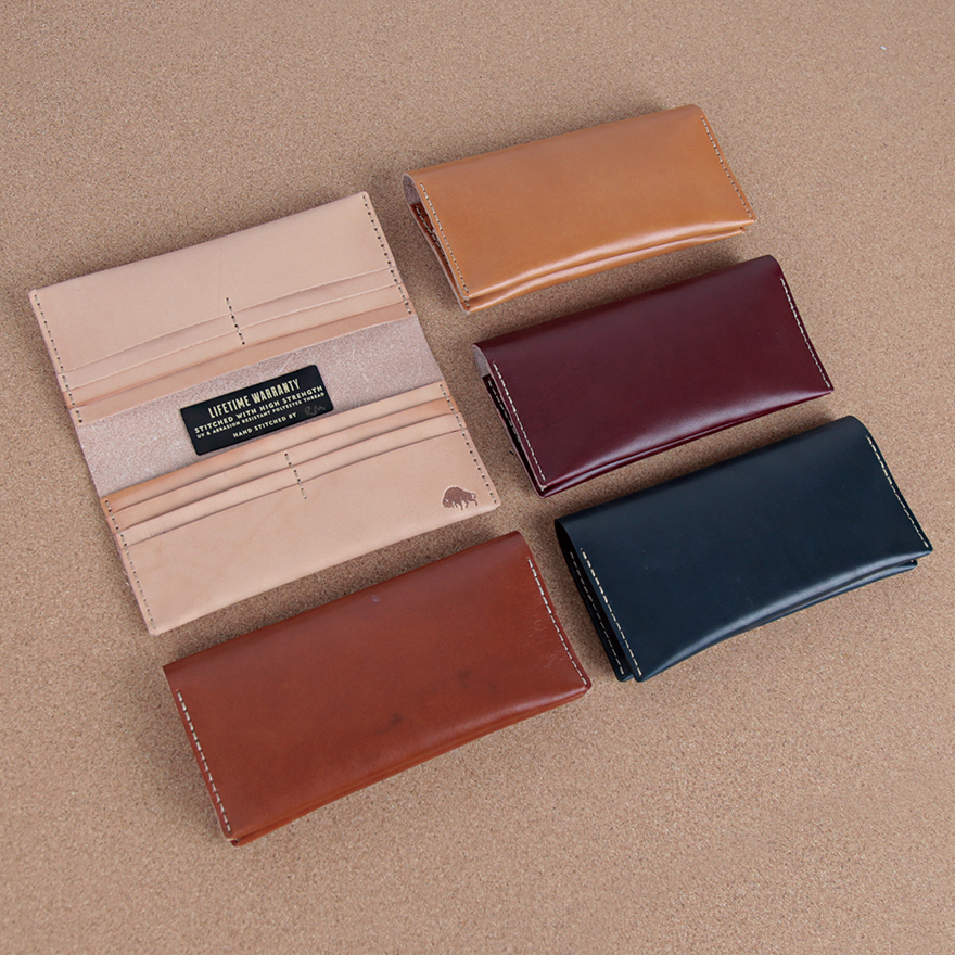 No.12 Wallet - Cognac