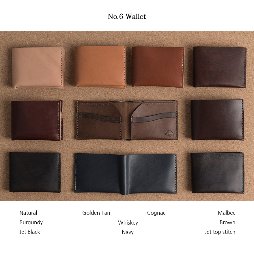 [SET] No.1 Brass Belt & No.6 Wallet