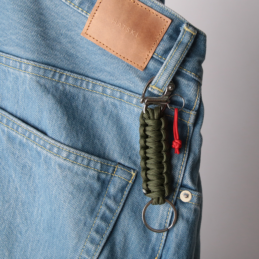 Cobra Key Holder - Olive