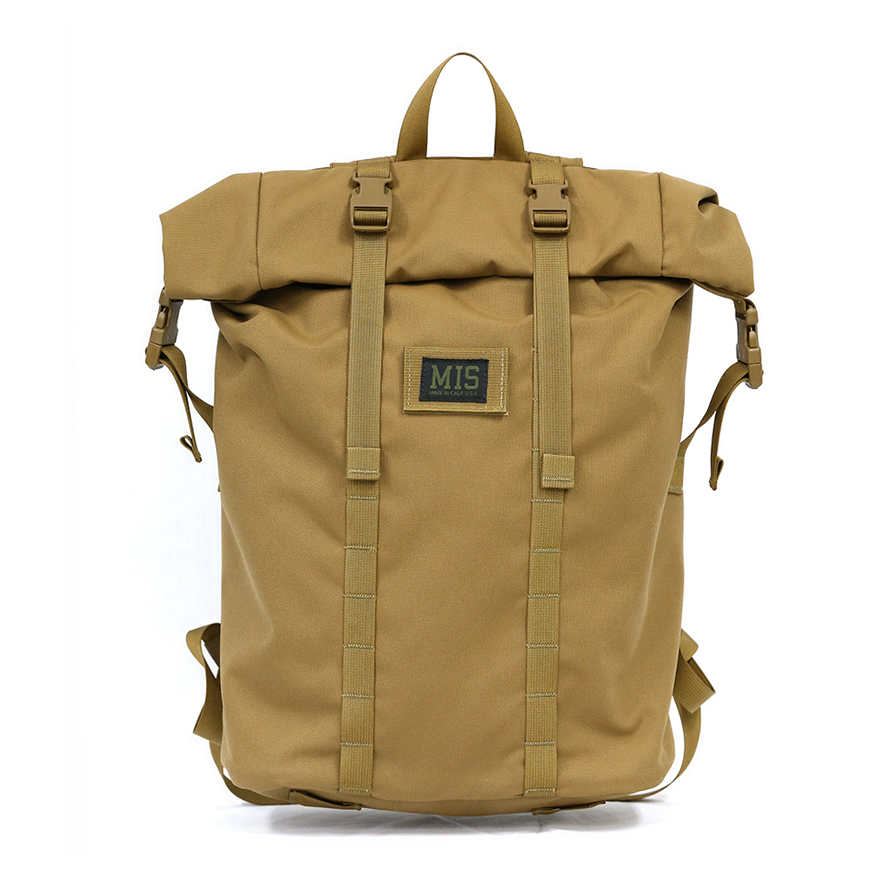 Roll Up Backpack - Coyote Brown