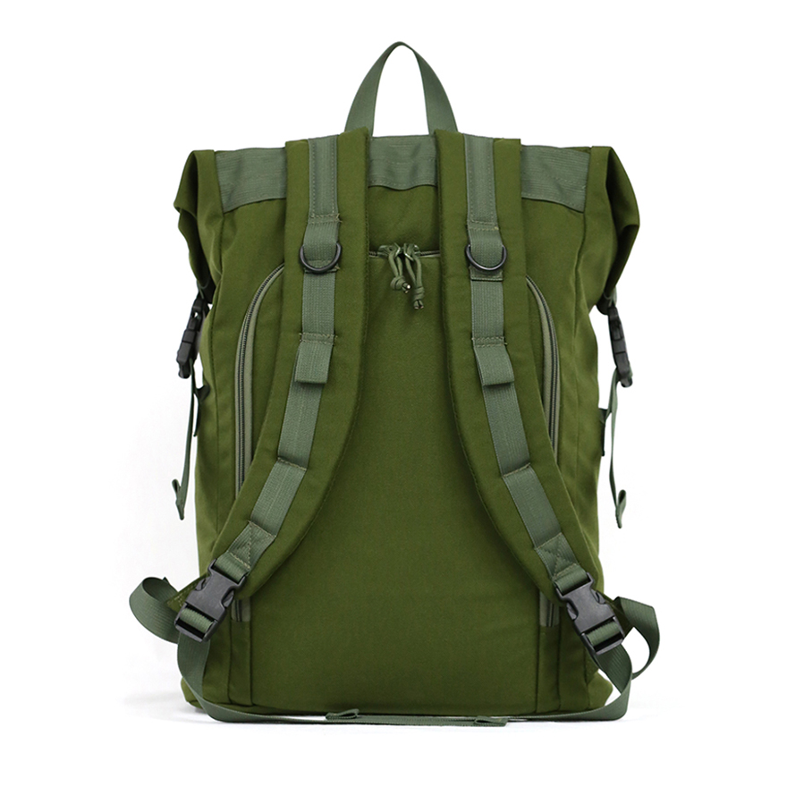 Roll Up Backpack - Olive Drab