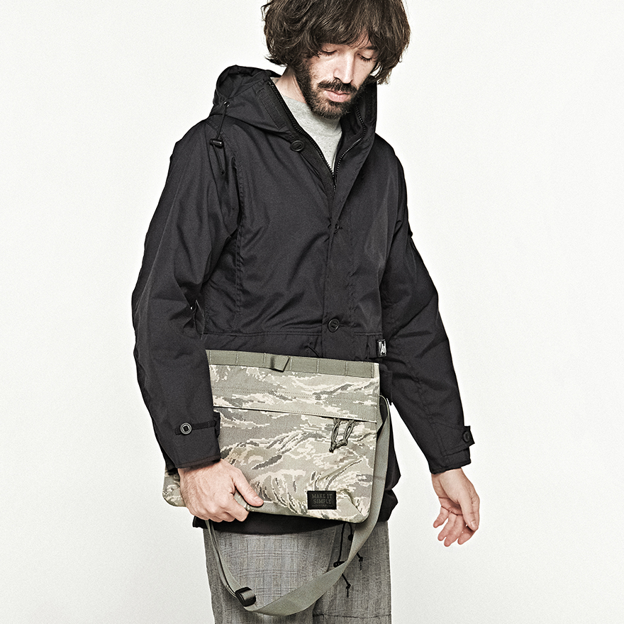 Padded Shoulder Bag - Covert Woodland