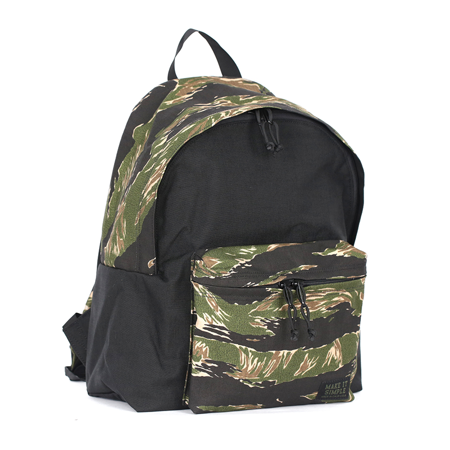 [Exclusive] Daypack - Green Tiger Black Mixed