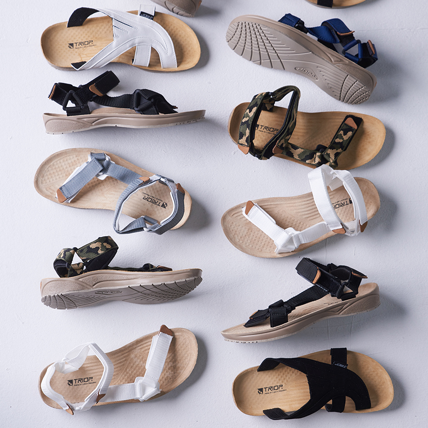 TRIOP,[SET] Terra Army Slipper & Slipper