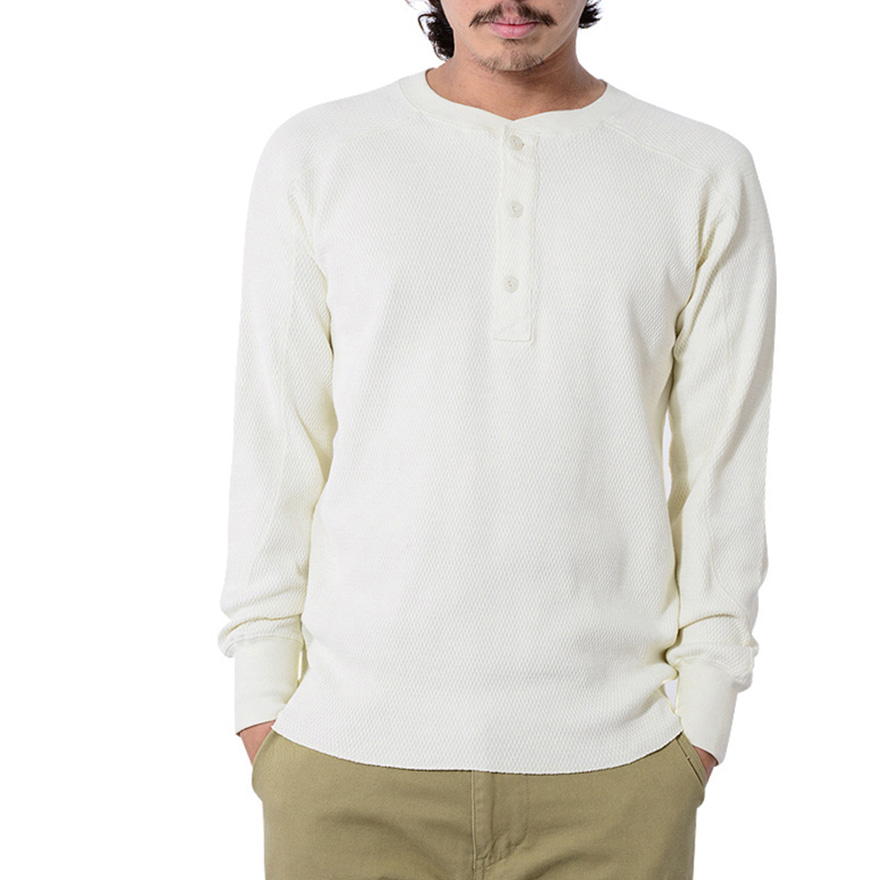 Heavy Thermal H/N Tee - Off White