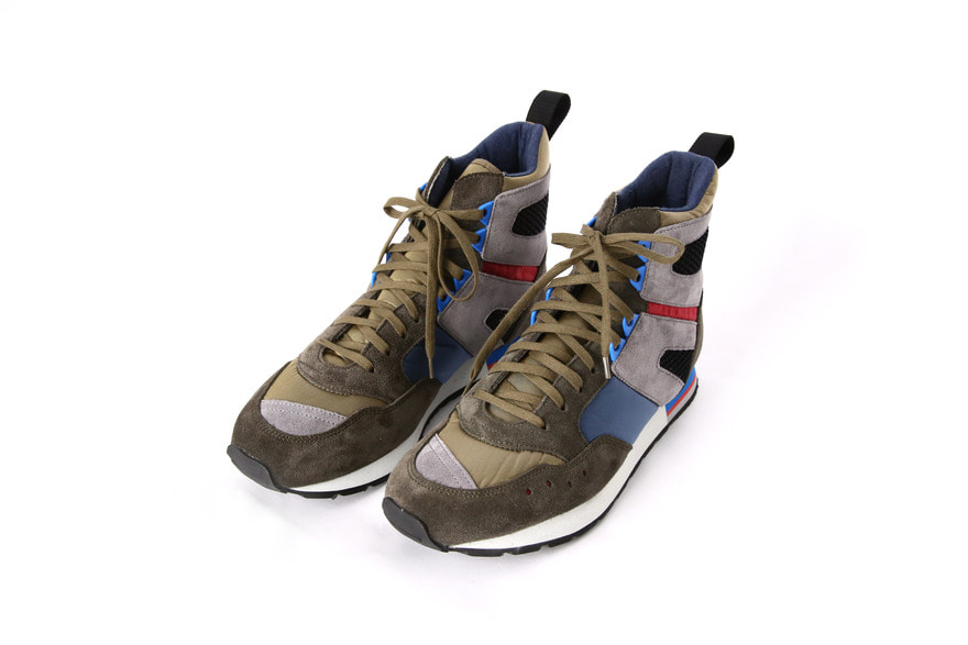 French Military Trainer High - Olive