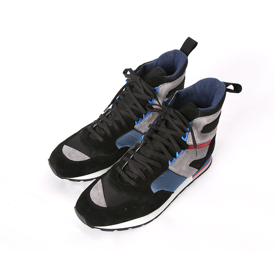 French Military Trainer High - Black