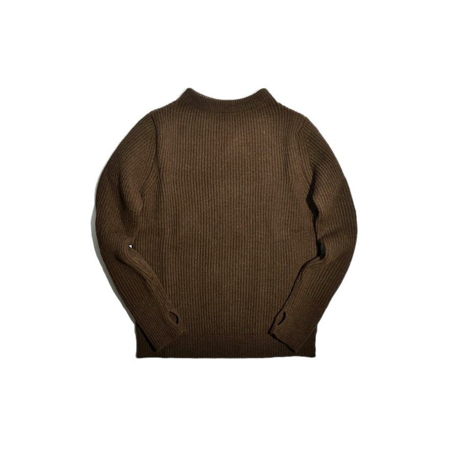 [진열상품] Navy Crewneck - Natural Brown