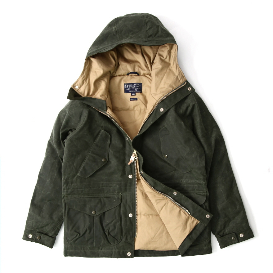 [진열상품] Fisherman Parka - Dark Green