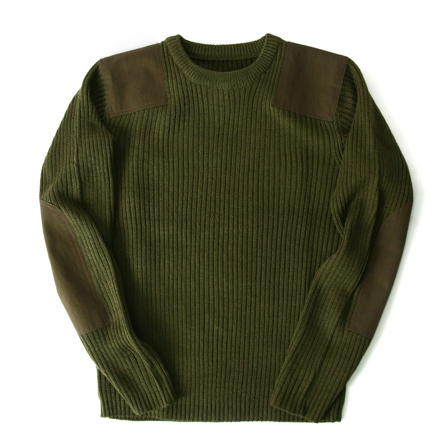 [재입고] Command Crew Neck Sweater - Olive Drab
