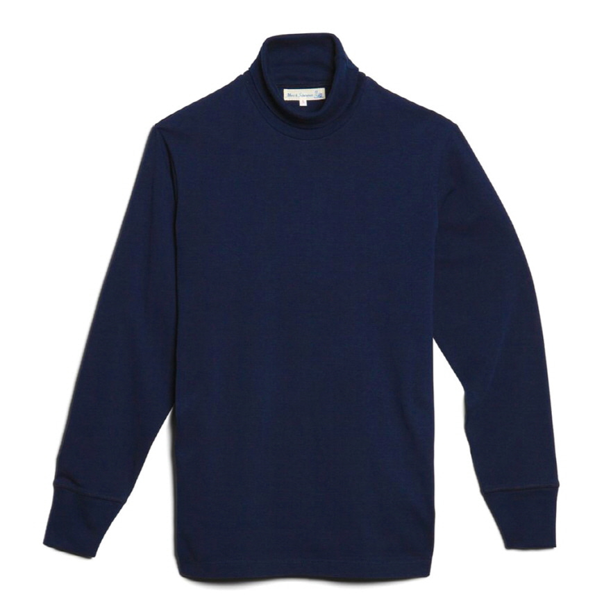 [진열상품] 219 Turtle Neck Long Sleeve - Ink Blue