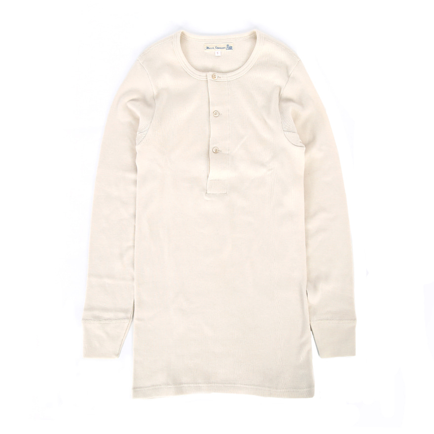 [진열상품] 506 Henley Neck Long Sleeve - Nature