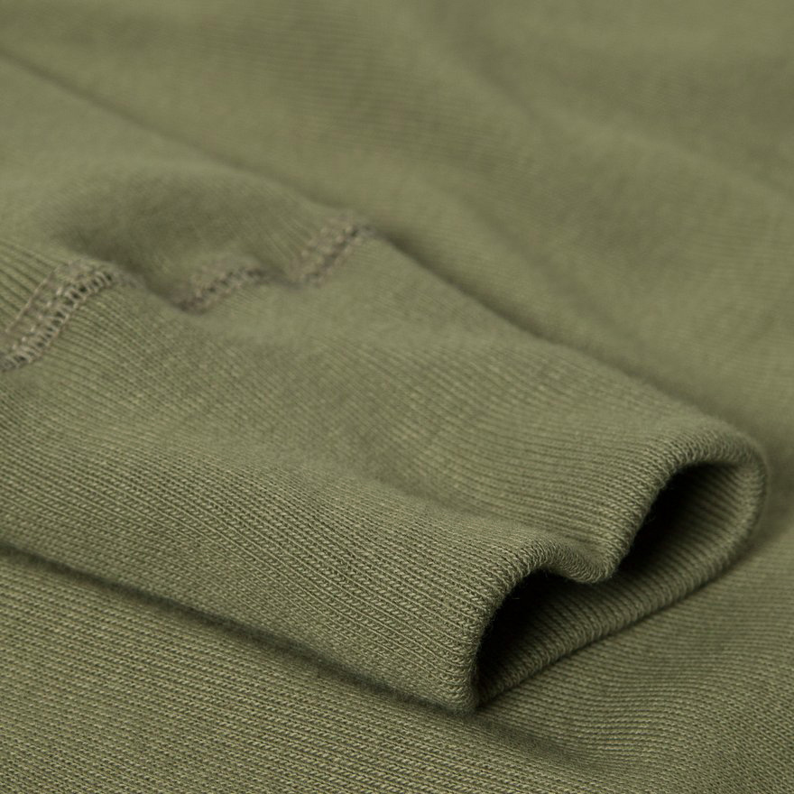 506 Henley Neck Long Sleeve - Army