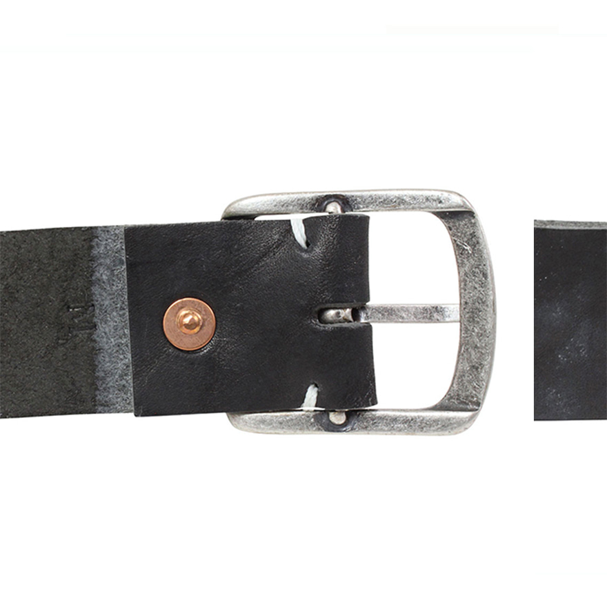 1.5inch Leather Belt - Black