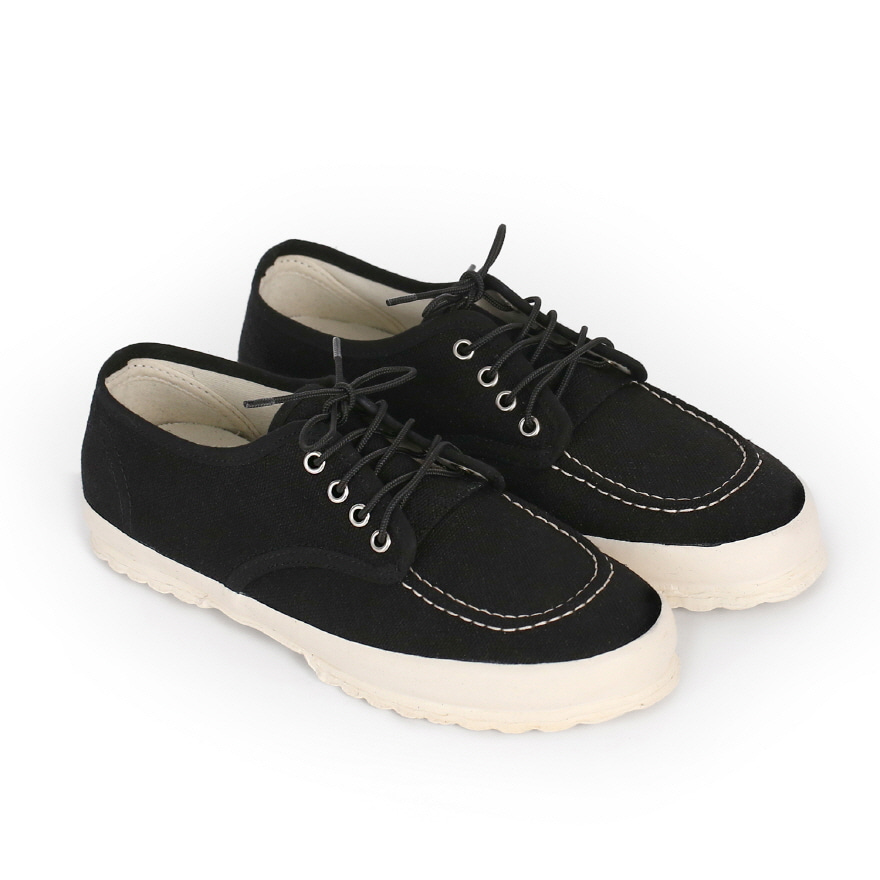 Work Oxford Moc-toe Type - Black LF