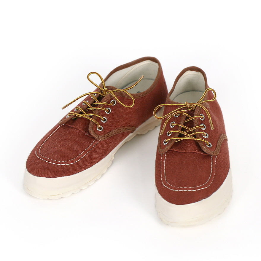 Work Oxford Moc-toe Type - Raddish Brown LF
