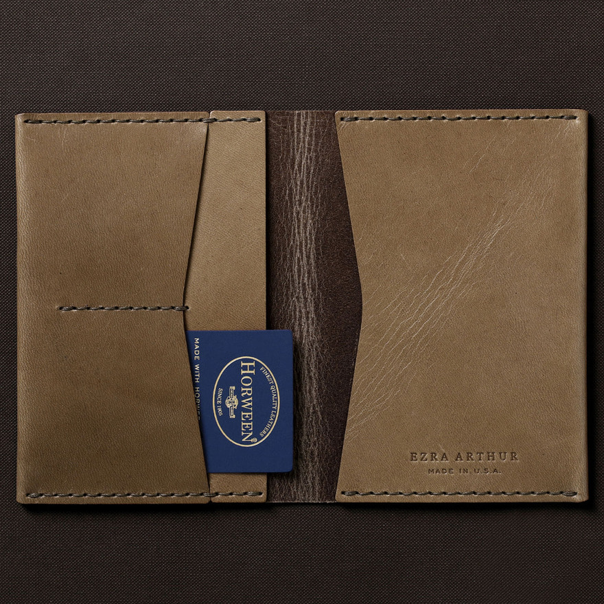 No.5 Passport Wallet - Whiskey