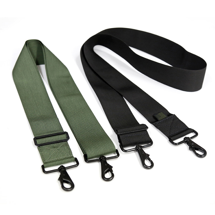 Shoulder Strap 2 Inch Wide - Black