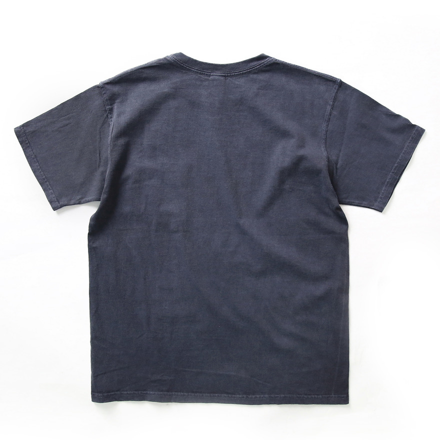 Crew Neck Pocket T-shirts - P-Navy