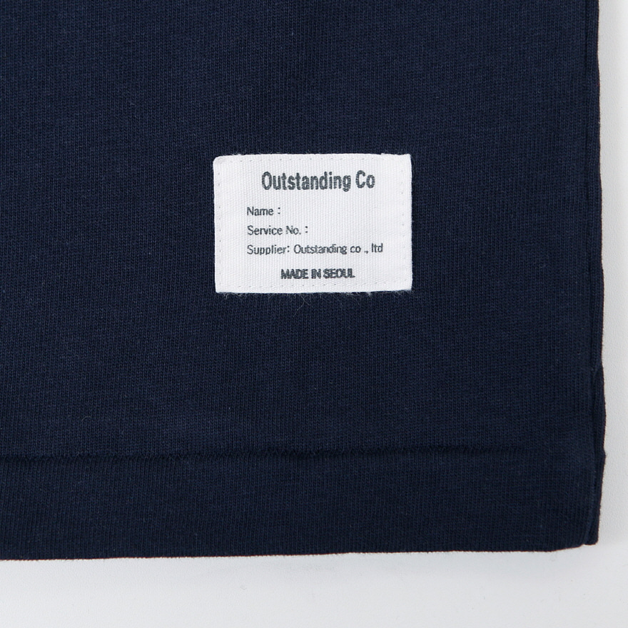 Standard Pocket Crewneck - Navy
