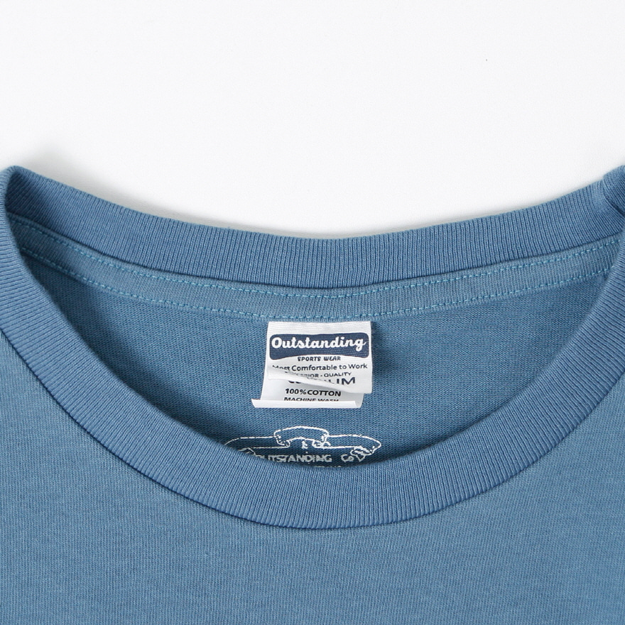 Standard Pocket Crewneck - Vintage Blue
