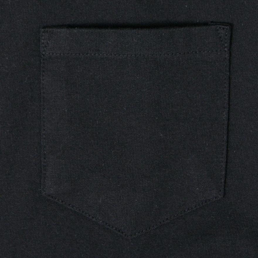 Standard Pocket Crewneck - Black
