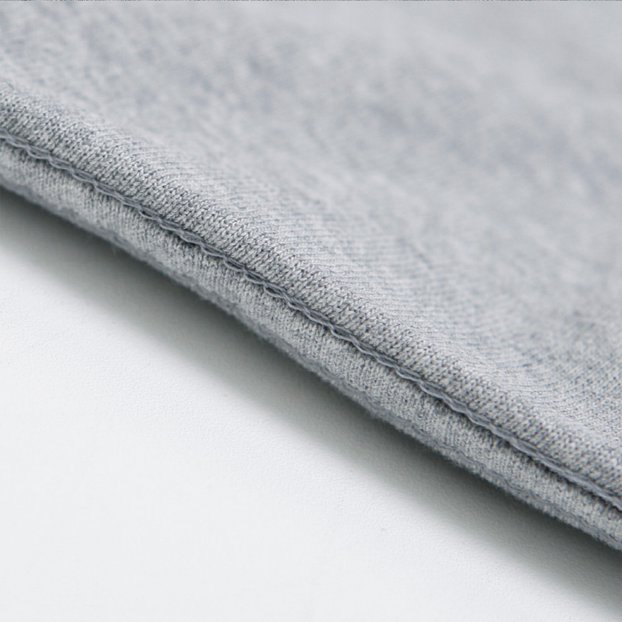Standard Pocket Crewneck - Melange Gray