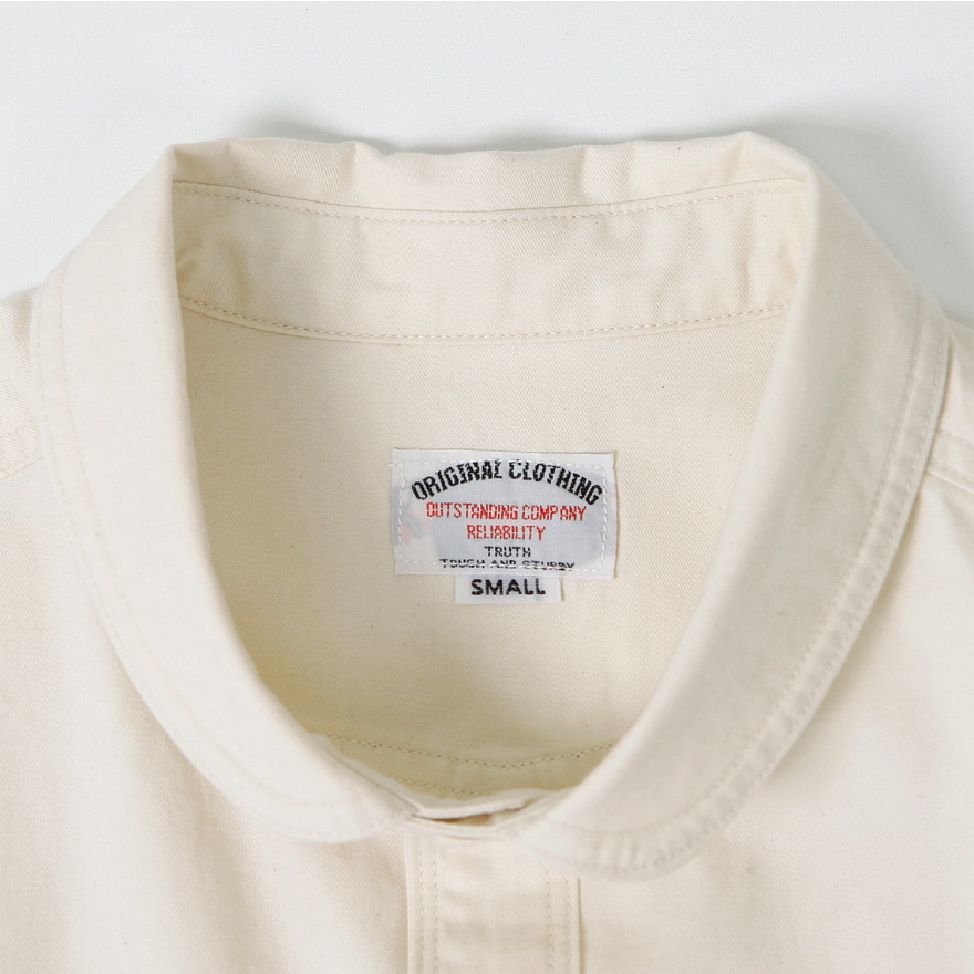 Shwal Neck Shirts - Oatmeal
