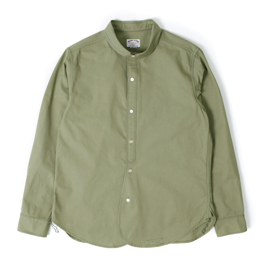Shwal Neck Shirts - Khaki