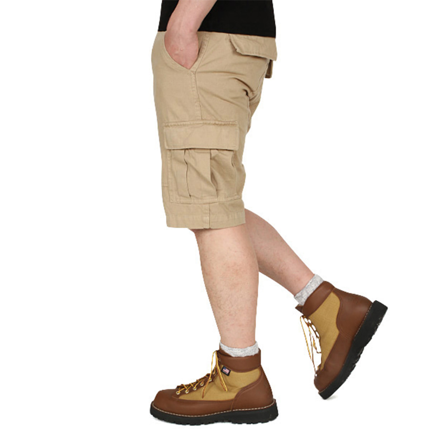 BDU Short Pants - Khaki