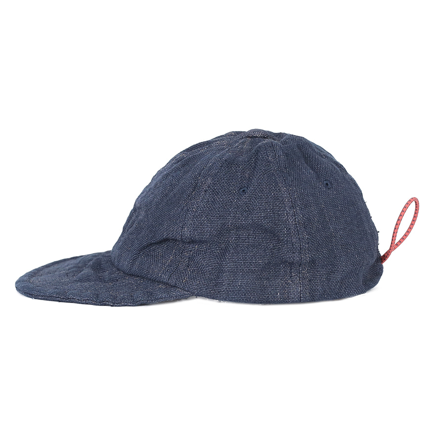 Overdyed P/Cloth Travel Cap - Navy