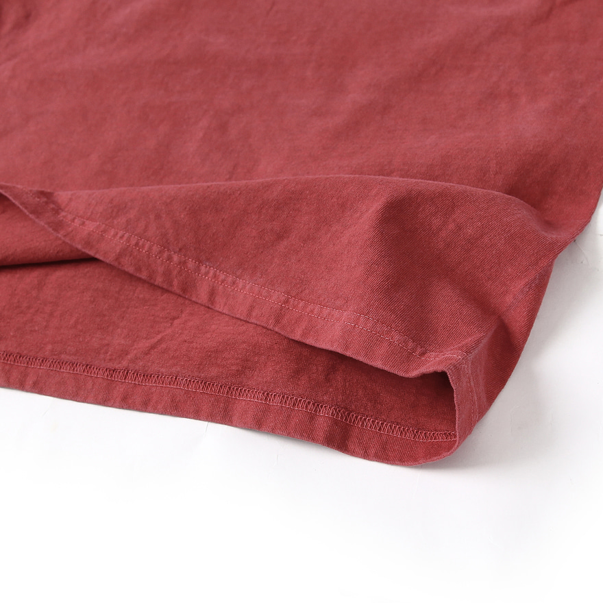 Pocket Long T-Shirts - P-F.Red