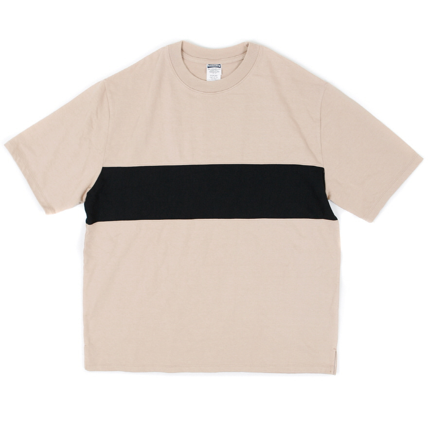 Line Point Half Sleeve - Beige
