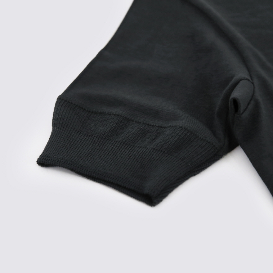 207 Henley Neck - Charcoal