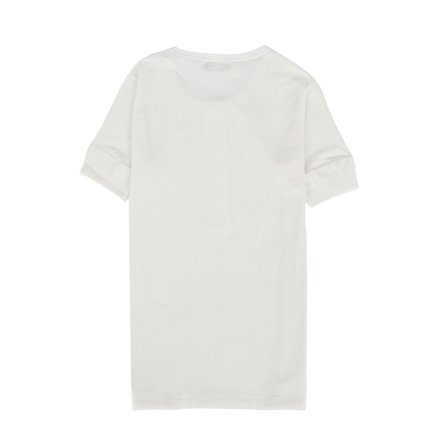 [진열상품] 207 Henley Neck - White