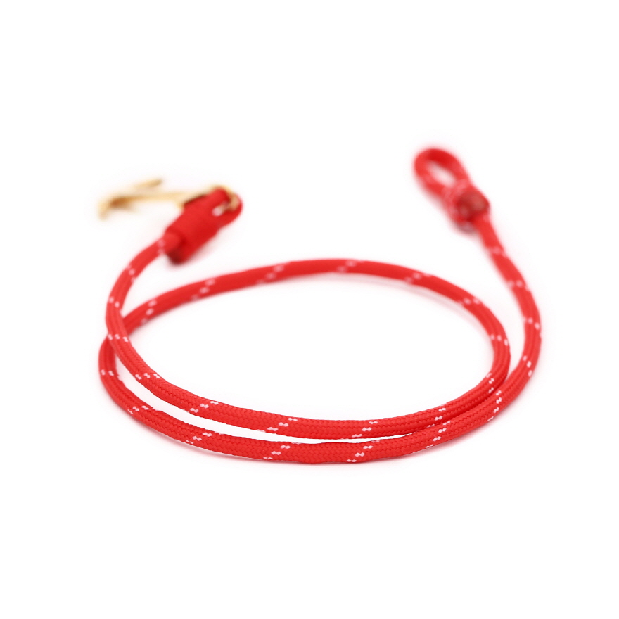 Anchor Bracelet - Christmas Red
