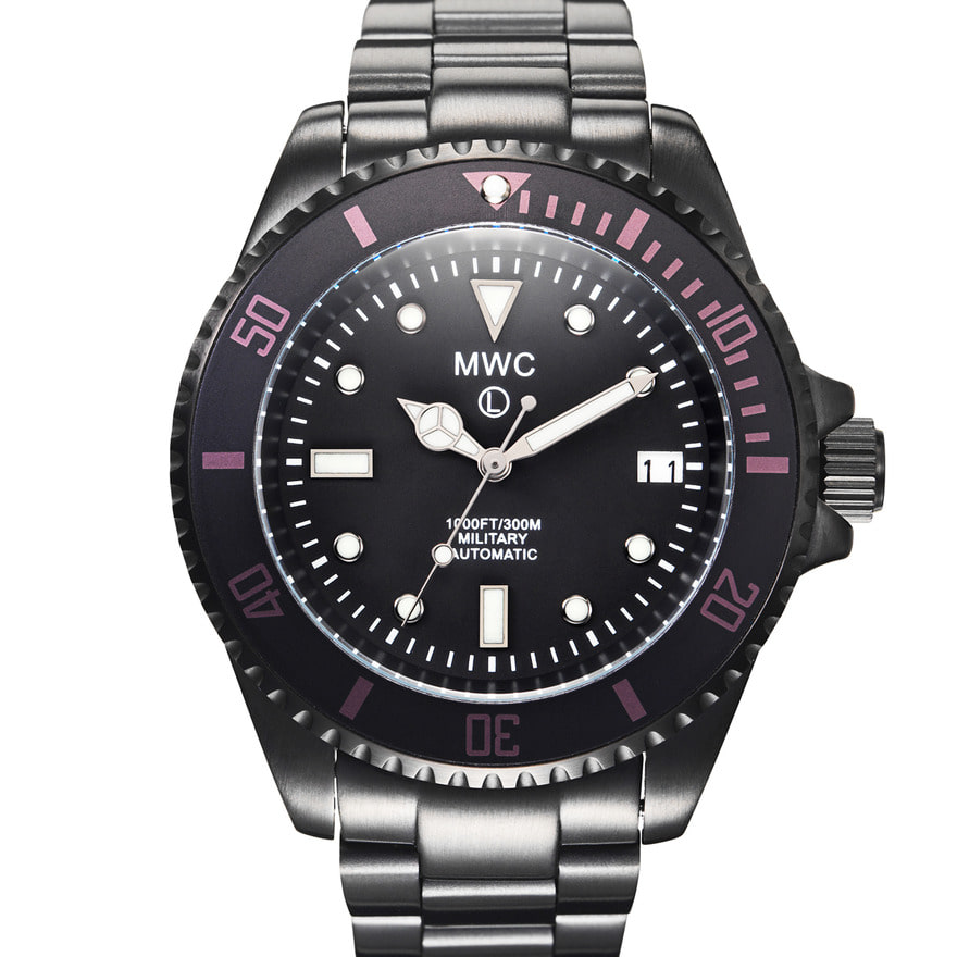 Military Diver PVD with Bracelet