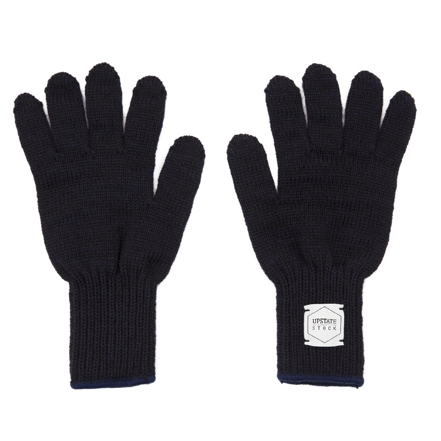 Wool Glove - Navy