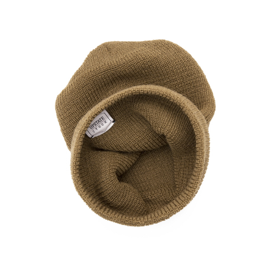 [재입고] Double Guage Wool Watchcap - Coyote