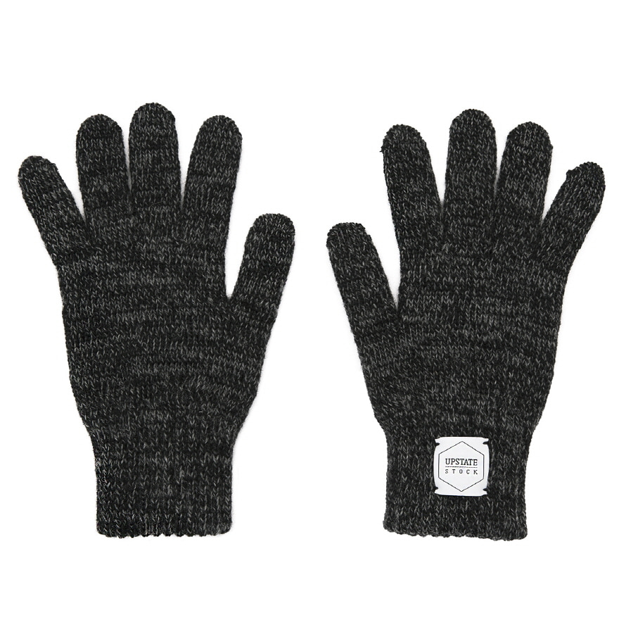 Wool Glove - Black