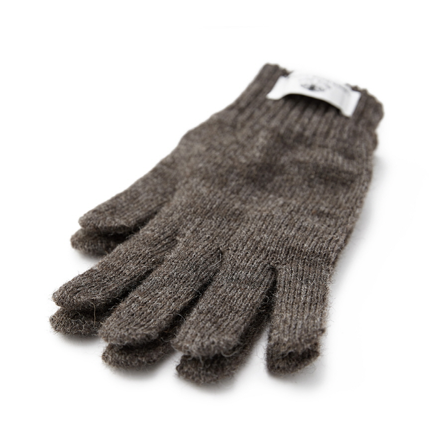 Machined Gloves - Dark Grey