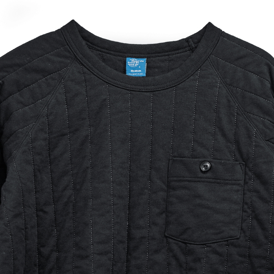 Padded Crew Shirts - Black