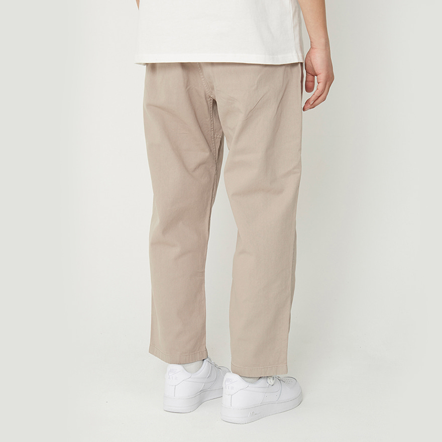 Loose Tapered Pants - Taupe