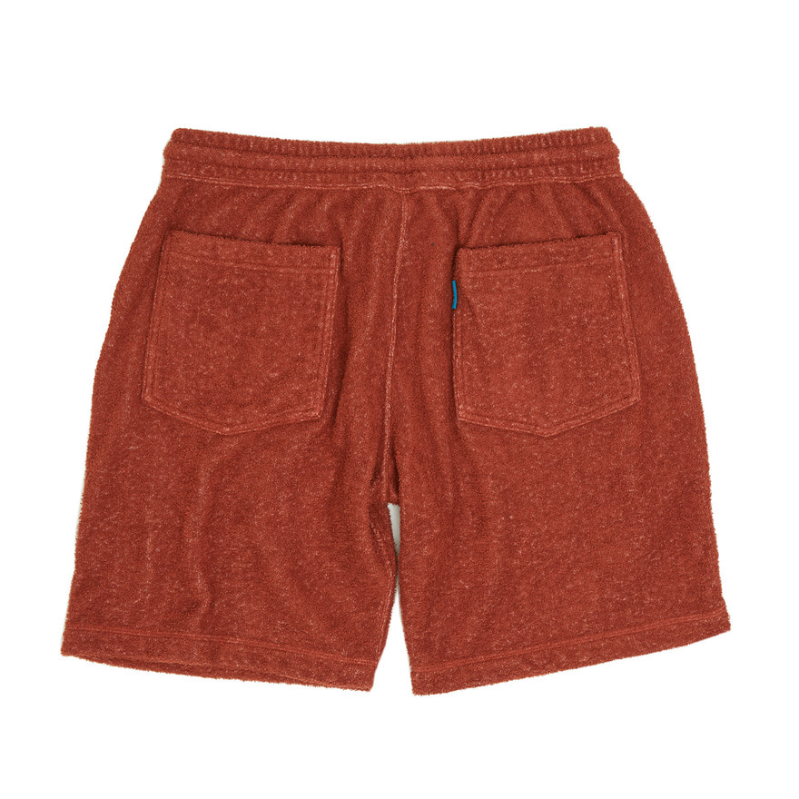 Double Pile Shorts - Orange